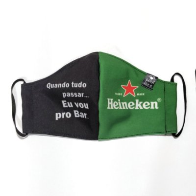 Máscara de Proteção - Heineken
