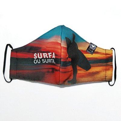 Máscara de Proteção - Surfa ou Surta