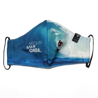 Máscara de Proteção - Segura sua Onda