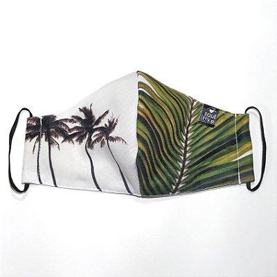 Máscara de Proteção - Coqueiros Folha