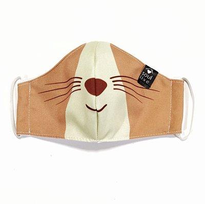 Máscara de Proteção Infantil - Gatinho