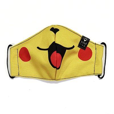 Máscara de Proteção Infantil - Pikachu