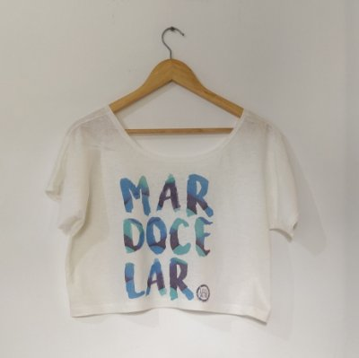 Cropped Adulto - MAR DOCE LAR