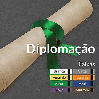 Diplomação Faixas Coloridas