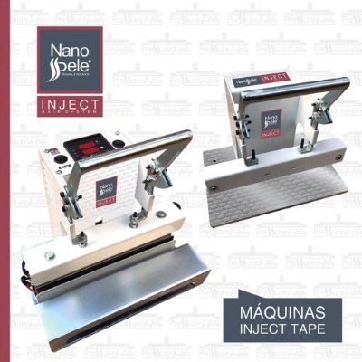 Máquina de Mega Hair Nanopele  Inject - Pressure Hair