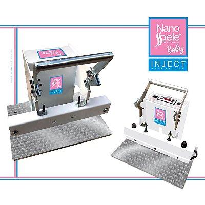 Maquina de Mega Hair Adesivo - Nanopele Inject Baby - Pressure Hair