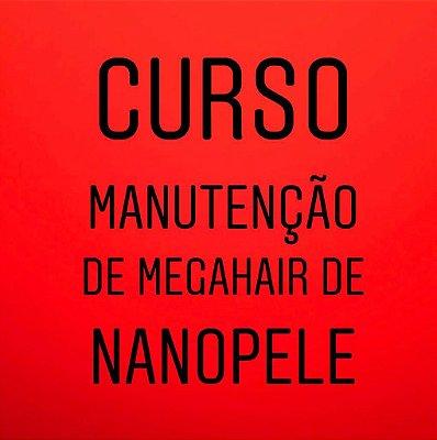 Curso de  Manutenção de Mega Hair Nanopele - Pressure Hair