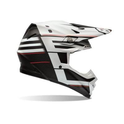 CAPACETE BELL MOTO-9 FLEX BLOCKED BLACK
