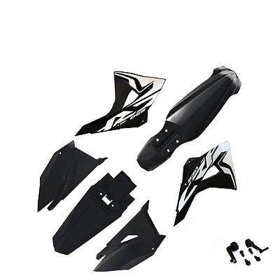 Kit Plástico Elite CRF230 Biker C/ adesivos