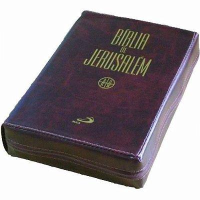 Bíblia de Jerusalém Ziper