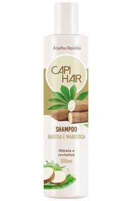 1023 CAPI HAIR SHAMPOO NUTRITIVO, MANDIOCA E BABOSA 300ml