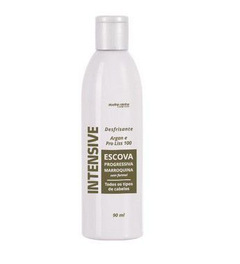 1012 **INTENSIVE – ESCOVA PROGRESSIVA MARROQUINA 90ML