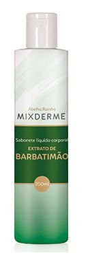 3670 **MIXDERME – SABONETE LÍQUIDO FEMININO BARBATIMÃO 200ml