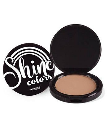8855  SHINE COLORS - DUO CAKE BRONZE 10G