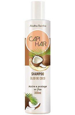 1247 **CAPI HAIR – SHAMPOO FORTALECEDOR DE ÓLEO DE COCO – 300g