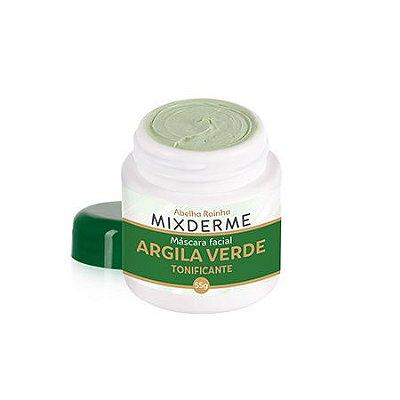 3699 MIXDERME – MÁSCARA FACIAL DE ARGILA VERDE 55g