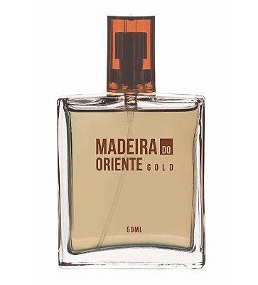 5385 **MADEIRA DO ORIENTE GOLD – DEO COLÔNIA MASCULINA 50ml