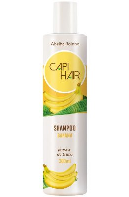 1261 **CAPI HAIR - SHAMPOO DE BANANA 300 ML