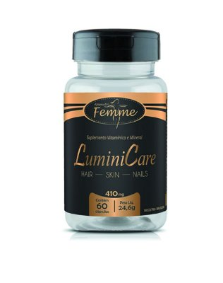 1018 Lumini Care 410mg 60 Cápsulas
