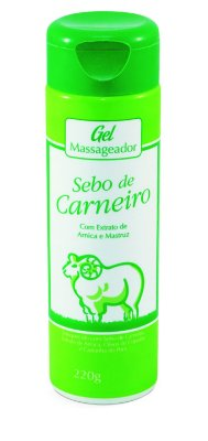 1187 Gel Massageador Sebo de Carneiro 220g
