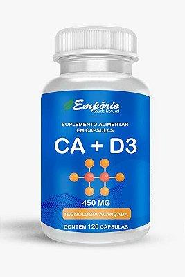 1321 Cálcio + Vitamina D3 450mg 120 Cápsulas