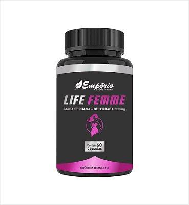 1338 Life Femme 500mg 60 Cápsulas