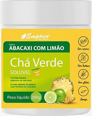 1369 Chá Verde Solúvel Sabor Abacaxi  com Limão 200g