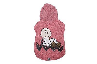 Moletom Vermelho Charlie Snoopy Sleeping