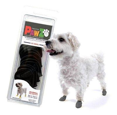 Botas para cachorros  Pawz XX Preta (4 unid)