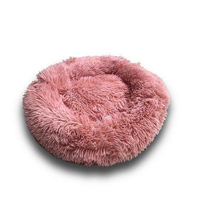Cama Macia Redonda Rosa