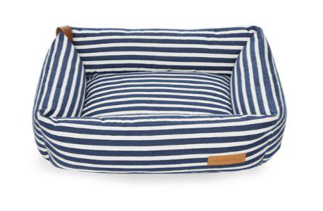 Cama Retangular Stripes Marinho
