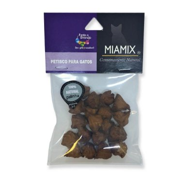 Miamix Snack Frango 20gr