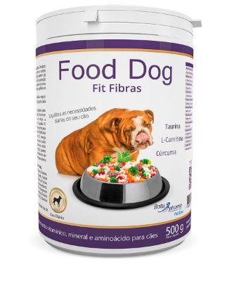 Food Dog Fit Fibras