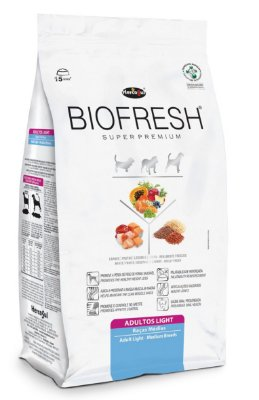 Biofresh Light Raças Medias 3Kg