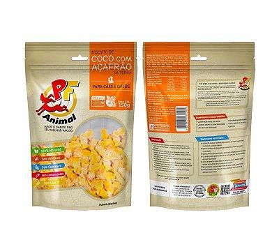 Biscoito de Côco com Açafrão 150gr
