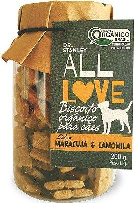 Biscoito Orgânico Maracujá e Camomila 200gr
