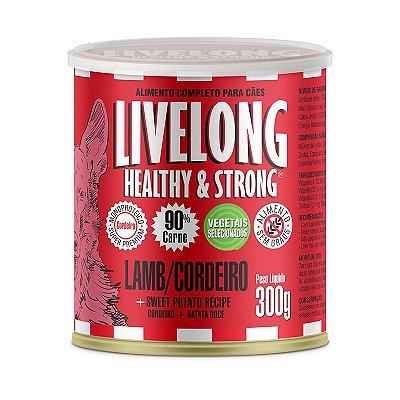 Livelong Cordeiro com Batata Doce 300gr (monoproteico)