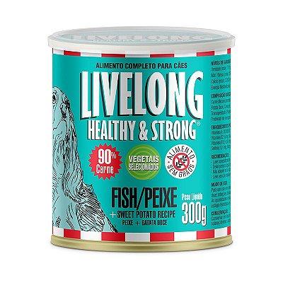 Livelong Peixe com Batata Doce 300gr