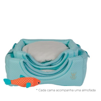 Cama Flex G Poá Tiffany