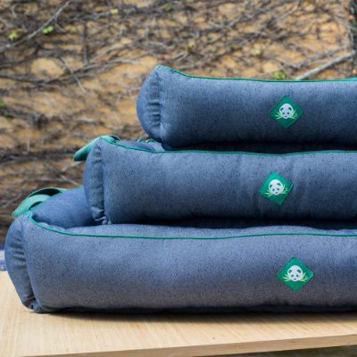 Cama em Jeans 100% Reciclado