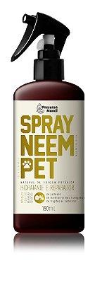 Spray Neem Pet - Neem, Flores & Ervas 180ml