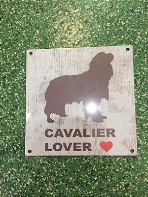 Placa Lover Cavalier