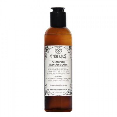 Shampoo Amêndoa e Mel 240ml