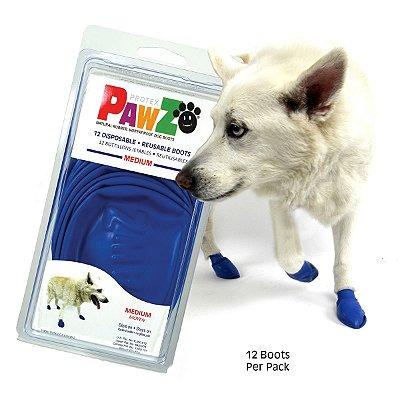 Botas Para Cachorros Pawz Medium Azul