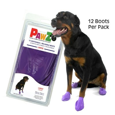 Botas Para Cachorros Pawz Large Preto