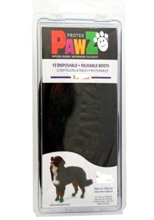 Botas Para Cachorros Pawz L Preto