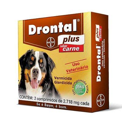 Drontal Plus Sabor Carne 35kg