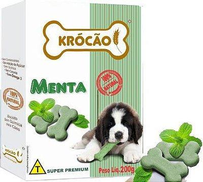 Biscoito Krócão Menta 200gr