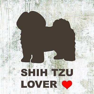 Placa Lover Shih Tzu