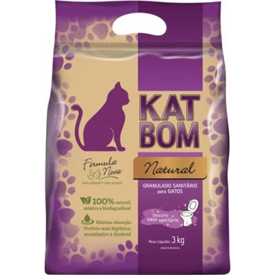 Katbom Areia para Gato 3kg